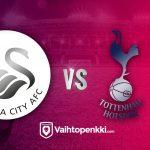 Swansea ja Tottenham pelaavat isoista pisteistä