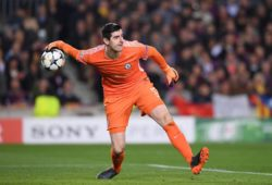 FUSSBALL CHAMPIONS LEAGUE SAISON 2017/2018 ACHTELFINALE RUECKSPIEL FC Barcelona Barca - FC Chelsea London 14.03.2018 Torwart Thibaut Courtois (FC Chelsea) Barcelona *** FOOTBALL CHAMPIONS LEAGUE SEASON 2017 2018 EIGHTH FINAL RECREATION FC Barcelona FC Chelsea London 14 03 2018 Goalkeeper Thibaut Courtois FC Chelsea Barcelona PUBLICATIONxNOTxINxAUTxSUIxITA