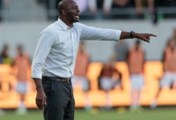 Patrick Vieira Los Angeles, CA - Sunday May 13, 2018: Los Angeles FC and New York City FC played to a 2-2 draw in a Major League Soccer (MLS) regular season game at Banc of California Stadium.