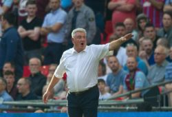 Aston Villa manager Steve Bruce during the Sky Bet Championship PLAY OFF FINAL match between Aston Villa and Fulham at Wembley Stadium, London, England on 26 May 2018. PUBLICATIONxNOTxINxUK Copyright: xAndrewxAleksiejczukx PMI-2050-0083