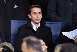 Gary Neville CELEBRITES : Paris Saint Germain vs Real Madrid CF - Ligue des Champions - Paris - 06/03/2018 FedericoPestellini/Panoramic PUBLICATIONxNOTxINxFRAxITAxBEL