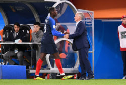 4.07624750 06 PAUL POGBA (FRA) - DIDIER DESCHAMPS (SELECTIONNEUR FRANCE)  IBL