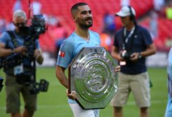 Ilkay Gundogan of Manchester City during the FA Community Shield match between Chelsea and Manchester City at Wembley Stadium in London. 05 Aug 2018