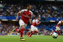Henrikh Mkhitaryan of Arsenal in action PUBLICATIONxNOTxINxUK Copyright: xPRiMExMediaxImagesx PMI-2157-0042