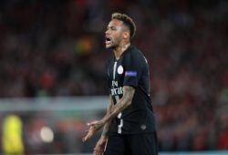 Football - 2018 / 2019 UEFA Champions League - Group C: Liverpool vs. Paris Saint-Germain Neymar of PSG at Anfield. COLORSPORT/LYNNE CAMERON PUBLICATIONxNOTxINxUK