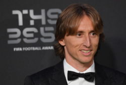 4.07728275 5645394 24.09.2018 Real Madrid's Luka Modric of Croatia arrives for the Best FIFA 2018 Awards in London, England, September 24, 2018. Alexey Filippov / Sputnik  IBL