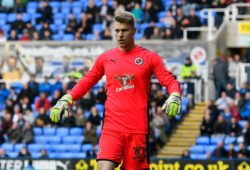 Anssi Jaakkola (31) of Reading during the EFL Sky Bet Championship match between Reading and Leeds United at the Madejski Stadium, Reading. Picture by Graham Hunt
