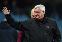 Steve Bruce Manager of Aston Villa.