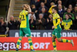 Teemu Pukki of Norwich City celebrates scoring the equalising goal, making it 1-1 - Norwich City v Millwall, Sky Bet Championship, Carrow Road, Norwich - 10th November 2018