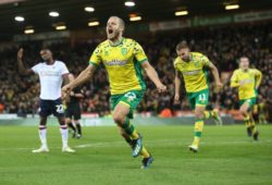 Norwich City v Bolton Wanderers Sky Bet Championship Teemu Pukki of Norwich celebrates scoring his sides 3rd goal during the Sky Bet Championship match at Carrow Road, Norwich PUBLICATIONxNOTxINxUK Copyright: xPaulxChestertonx FIL-12662-0146