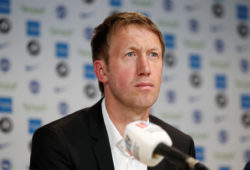 Football Soccer - Brighton & Hove Albion Press Conference - American Express Elite Football Performance Centre, Lancing, Britain - May 20, 2019   Brighton & Hove Albion's new manager Graham Potter during the press conference   Action Images via Reuters/John Sibley X03811
