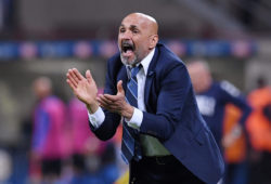 FILE PHOTO: Soccer Football - Serie A - Inter Milan v Empoli - San Siro, Milan, Italy - May 26, 2019   Inter Milan coach Luciano Spalletti reacts   REUTERS/Alberto Lingria/File Photo X04139