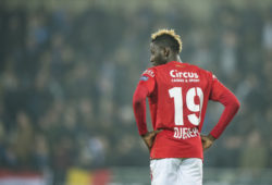 April 8, 2019 - Brugge, Belgium - Standard's Moussa Djenepo looks dejected after a soccer match between Club Brugge KV and Standard de Liege, Monday 08 April 2019 in Brugge, on day 3 (out of 10) of the Play-off 1 of the 'Jupiler Pro League' Belgian soccer championship.