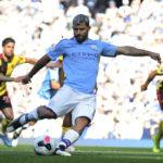 Agüero maalasi itsensä kovaan seuraan Cityn 8-0 ryöpytyksessä