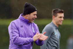 Soccer Football - Champions League - Tottenham Hotspur Training - Tottenham Hotspur Training Centre, London, Britain - October 21, 2019   Tottenham Hotspur manager Mauricio Pochettino during training   Action Images via Reuters/John Sibley  X03811