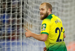 "Soccer Football - Premier League - Leicester City v Norwich City - King Power Stadium, Leicester, Britain - December 14, 2019  Norwich City's Teemu Pukki reacts  Action Images via Reuters/Andrew Boyers  EDITORIAL USE ONLY. No use with unauthorized audio, video, data, fixture lists, club/league logos or ""live"" services. Online in-match use limited to 75 images, no video emulation. No use in betting, games or single club/league/player publications.  Please contact your account representative for further details.  X03813"