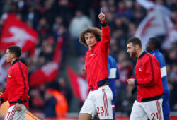 """Soccer Football - Premier League - Arsenal v Chelsea - Emirates Stadium, London, Britain - December 29, 2019 Arsenal's David Luiz before the match  REUTERS/Eddie Keogh  EDITORIAL USE ONLY. No use with unauthorized audio, video, data, fixture lists, club/league logos or """"live"""" services. Online in-match use limited to 75 images, no video emulation. No use in betting, games or single club/league/player publications.  Please contact your account representative for further details.  X01801"""