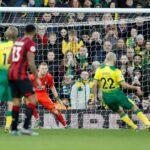 Pukille kauden kymmenes rysä Valioliigassa – Norwich elintärkeään voittoon