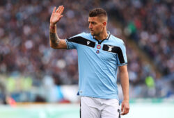 Sergej Milinkovic Savic of Lazio gestures during the Italian championship Serie A football match between ss Lazio and Bologna FC on February 29, 2020 at Stadio Olimpico in Rome, Italy - Photo Federico Proietti/ESPA/Cal Sport Media/Sipa USA-Images(Credit Image: © ESPA/Cal Sport Media/Sipa USA Photo Agency/CSM/Sipa USA)