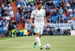 Mandatory Credit: Photo by Oscar J Barroso/REX (9645262l) Achraf Hakimi of Real Madrid Real Madrid v Leganes, La Liga, Football, Santiago Bernabeu Stadium, Madrid, Spain - 28 Apr 2018