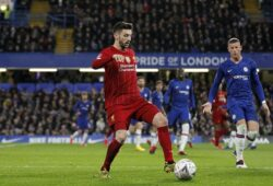 Adam Lallana of Liverpool on the ball during the The FA Cup round of 16 match between Chelsea and Liverpool at Stamford Bridge, London, England on 3 March 2020. PUBLICATIONxNOTxINxUK Copyright: xCarltonxMyriex 26580127