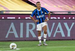 July 20, 2020, Italy: Foto IPP/Roberto Ramaccia.Roma 19/07/2020.Campionato di Calcio Serie A Tim 2019-2020.Roma vs Inter.Nella foto Alexis Sanchez sul calcio d'angolo.