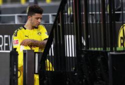 Fussball: 1. Bundesliga: Saison 19/20: .17.06.2020 32. Spieltag: BVB Borussia Dortmund . FSV Mainz BVB Jadon Sancho , Auswechslung , Enttäuschung , enttäuscht , Enttaeuschung , enttaeuscht , unzufrieden , Sport: Fussball: 1. Bundesliga: Saison 19/20: .17.06.2020 32. Spieltag: BVB Borussia Dortmund . FSV Mainz Foto: Jürgen Fromme / firosportphoto / POOL Nur für journalistische Zwecke Only for editorial use Stadt Dortmund Signal-Iduna-Park Bundesland NRW Deutschland *** Sport Fussball 1 Bundesliga Season 19 20 17 06 2020 32 Matchday BVB Borussia Dortmund FSV Mainz BVB Jadon Sancho , Substitution , Disappointment , Disappointed , Disappointed , Discontented , dissatisfied , Sport Fussball 1 Bundesliga Season 19 20 17 06 2020 32 Matchday BVB Borussia Dortmund FSV Mainz Photo Jürgen Fromme firosportphoto POOL Only for journalistic purposes Only for editorial use City Dortmund Signal Iduna Park Bundesland NRW Germany Poolfoto Jürgen Fromme / firo Sportphoto / POOL ,EDITORIAL USE ONLY