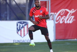 Atletico de Madrid's Thomas Partey during training session. June 5,2020.(ALTERPHOTOS/Atletico de Madrid/Pool)