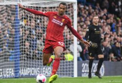 LONDON, ENGLAND - SEPTEMBER 22, 2019: Joel Matip of Liverpool pictured during the 2019/20 Premier League game between Chelsea FC and Liverpool FC at Stamford Bridge.