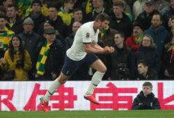 Tottenham Hotspur v Norwich City FA Cup Jan Vertonghen of Tottenham Hotspur celebrates scoring his sides 1st goal during the FA Cup match at Tottenham Hotspur Stadium, London PUBLICATIONxNOTxINxUKxCHN Copyright: xPaulxChestertonx FIL-14183-0010