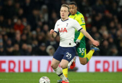 Tottenhams Oliver Skipp during the FA Cup match at the Tottenham Hotspur Stadium, London. Picture date: 4th March 2020. Picture credit should read: David Klein/Sportimage PUBLICATIONxNOTxINxUK SPI-0531-0098