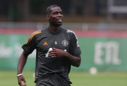 FOOTBALL : Entrainement et Conference de Presse - Manchester United, ManU vs FC Seville - UEFA Ligue Europa - Finale 8 - Cologne - 15/08/2020 COLOGNE, GERMANY - AUGUST 11: EXCLUSIVE COVERAGE Paul Pogba of Manchester United in action during a first team training session at Sportpark Hoehenberg on August 11, 2020 in Cologne, Germany. Cologne Allemagne *** FOOTBALL Entrainement et Conference de Presse Manchester United vs FC Seville UEFA Ligue Europa Finale 8 Cologne 15 08 2020 COLOGNE, GERMANY AUGUST 11 EXCLUSIVE COVERAGE Paul Pogba of Manchester United in action during a first team training session at Sportpark Hoehenberg on August 11, 2020 in Cologne, Germany Cologne Allemagne Poolfoto Panoramic / UEFA / POOL ,EDITORIAL USE ONLY