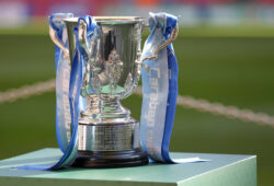 The Carabao Cup trophy during the EFL Carabao Cup Final between Chelsea and Manchester City at Wembley Stadium, London, England on 24 February 2019. PUBLICATIONxNOTxINxUK Copyright: xCarltonxMyriex 23150010