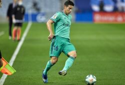 Spanish La Liga soccer match Real Sociedad vs real Madrid at Reale Arena Stadium in San Sebastian, Guipuzcoa on June 21, 2020    James Rodriguez    (Photo by Cordon Press/Sipa USA)