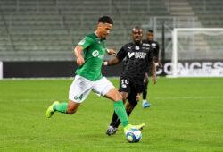 04 WILLIAM SALIBA ASSE - 10 GAEL KAKUTA AMI FOOTBALL : Saint Etienne vs Amiens - Ligue 1 Conforama - 27/10/2019 FEP/Panoramic PUBLICATIONxNOTxINxFRAxITAxBEL
