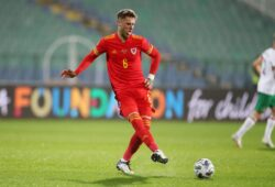 Editorial use only Mandatory Credit: Photo by Huw Evans Picture/Shutterstock (10954525ae) Joe Rodon of Wales. Bulgaria v Wales - UEFA Nations League - 14 Oct 2020