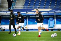 Echauffement - Crsitiano Ronaldo  Portugal  - FOOTBALL : France vs Portugal - Ligue des Nations - Saint Denis - 11/10/2020 FedericoPestellini/Panoramic PUBLICATIONxNOTxINxFRAxITAxBEL