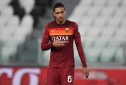 Chris Smalling of AS Roma during the Serie A football match between Juventus FC and AS Roma at Juventus stadium in Turin (Italy), August 1st, 2020. Play resumes behind closed doors following the outbreak of the coronavirus disease. Photo Andrea Staccioli / Insidefoto/Sipa USA