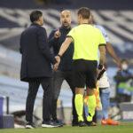 """""""Painosti tuomareita"""" – Porton managerilta täyslaidallinen Guardiolalle Mestarien liiga -ottelun jälkimainingeissa"""