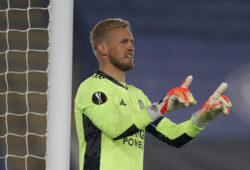 November 5, 2020, Leicester, United Kingdom: Kasper Schmeichel during the UEFA Europa League match at the King Power Stadium, Leicester. Picture date: 5th November 2020. Picture credit should read: Darren Staples/Sportimage.