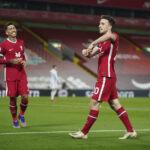 Everton katkaisi tappioputkensa Fulhamin kustannuksella – Liverpool peittosi Leicesterin tyylipuhtaasti