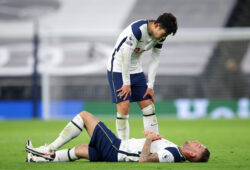 November 21, 2020, London, United Kingdom: Tottenham's Toby Alderweireld gets injured during the Premier League match at the Tottenham Hotspur Stadium, London. Picture date: 21st November 2020. Picture credit should read: David Klein/Sportimage.