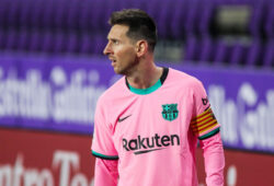 December 22, 2020, Valladolid, Roma, Spain: Lionel Messi of FC Barcelona during the Spanish championship La Liga football match between Real Valladolid and FC Barcelona on December 22, 2020 at Jose Zorrilla stadium in Valladolid, Spain - Photo Irina RH / Spain DPPI / DPPI / LM.