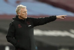 Soccer Football - Premier League - West Ham United v Aston Villa - London Stadium, London, Britain - November 30, 2020 West Ham United manager David Moyes Pool via REUTERS/Frank Augstein EDITORIAL USE ONLY. No use with unauthorized audio, video, data, fixture lists, club/league logos or 'live' services. Online in-match use limited to 75 images, no video emulation. No use in betting, games or single club /league/player publications.  Please contact your account representative for further details.  X01348