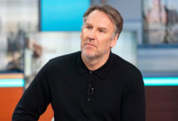 Editorial use only Mandatory Credit: Photo by S Meddle/ITV/REX/Shutterstock (10167897bx) Paul Merson 'Good Morning Britain' TV show, London, UK - 26 Mar 2019
