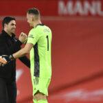 """Bernd Leno latasi täyslaidallisen Arsenal-pelaajille ja puolusti Artetaa: """"Hän on vähiten syyllinen tilanteeseen"""""""
