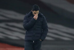 November 29, 2020, London, United Kingdom: Mikel Arteta manager of Arsenal reflects following another home defeat during the Premier League match at the Emirates Stadium, London. Picture date: 29th November 2020. Picture credit should read: David Klein/Sportimage.