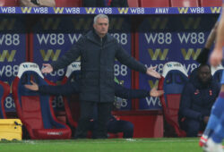 Tottenham Hotspur Manager Jos Mourinho is the special one during the Premier League match between Crystal Palace and Tottenham Hotspur at Selhurst Park, London, England on 13 December 2020. PUBLICATIONxNOTxINxUK Copyright: xKenxSparksx 27790033