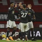 Mitä erotiikkaa! Katso: Manchester Unitedin tähdet juonivat häikäisevän maalin