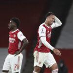 Arsenalin taaperuus jatkui – voitoton putki kasvoi jo kuuden ottelun mittaiseksi